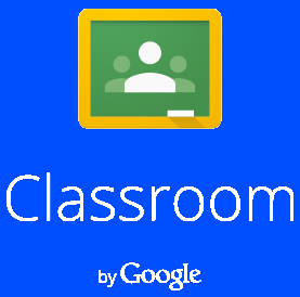 Classroom by Google blue